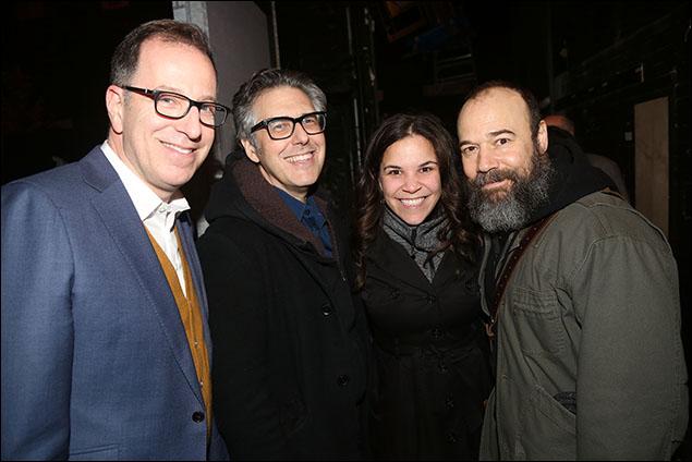 Ted Sperling, Ira Glass, Lindsay Mendez and Danny Burstein