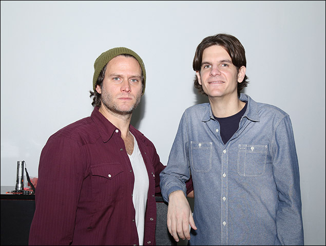 Steven Pasquale and Alex Timbers