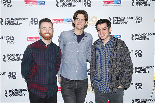 Connor Gallagher, Alex Timbers and Justin Levine