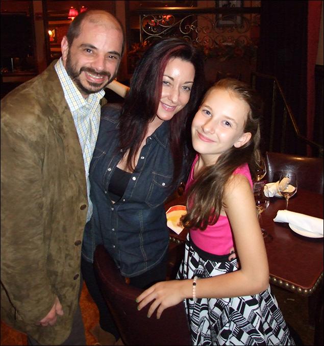 Sophia Gennusa and family