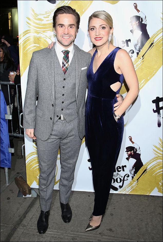 Joe Tapper and Annaleigh Ashford