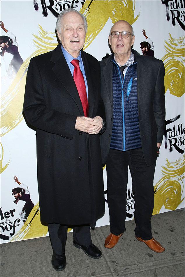 Alan Alda and Jeffrey Tambor
