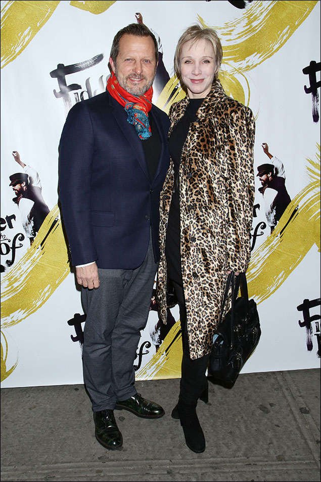Rob Ashford and Charlotte d'Amboise