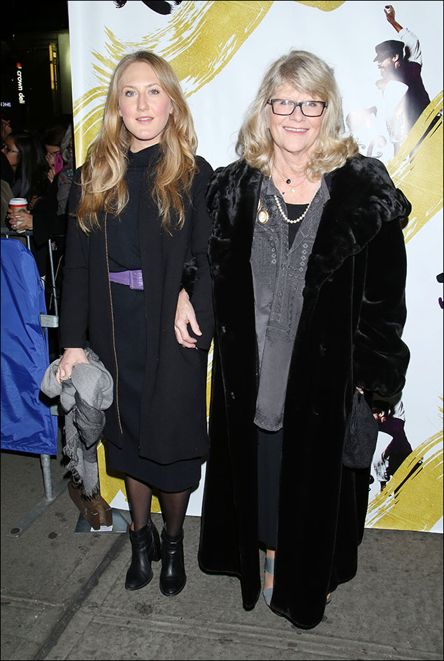 Margaret Braine and Judith Ivey