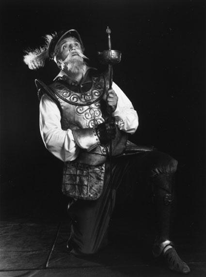 Hal Linden in the 1988 U.S. tour