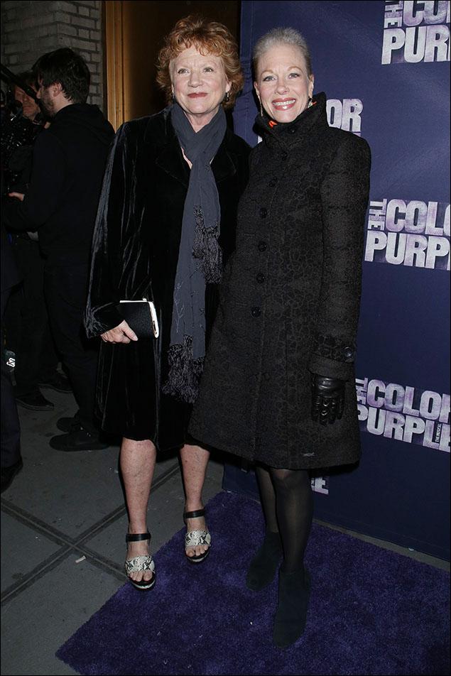 Becky Ann Baker and Marin Mazzie