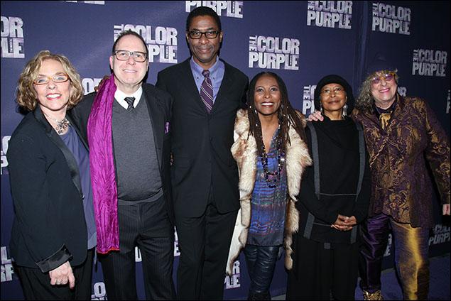 Marsha Norman, Scott Sanders, Stephen Bray, Brenda Russell, Alice Walker and Allee Willis