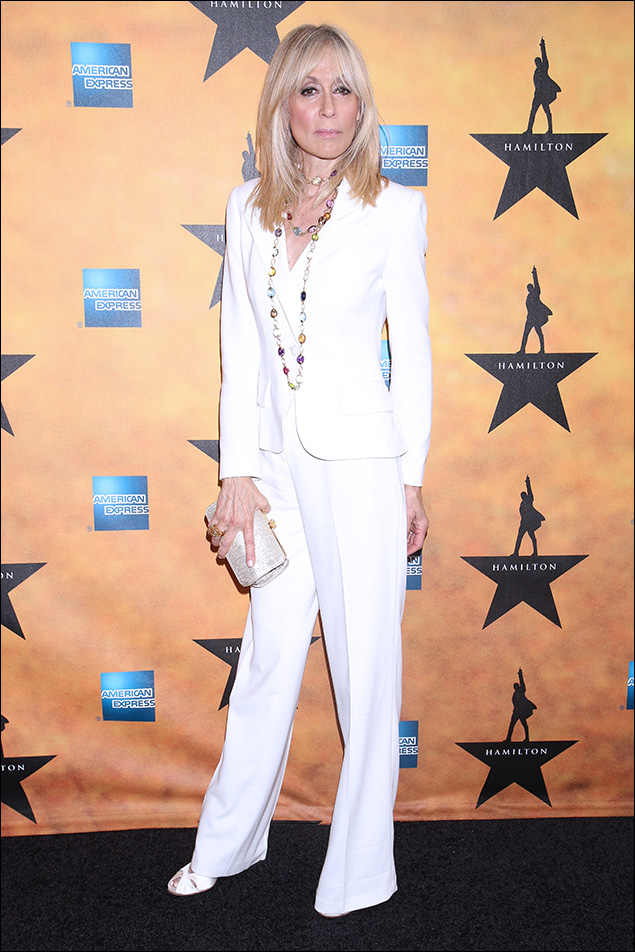 """Judith Light: A big """"thank you"""" to Judith Light for always bringing sophistication, elegance, and style to the Red Carpet. One of her signatures is knowing the power of a monochromatic palette, and playing it pitch perfect with the right accessories."""