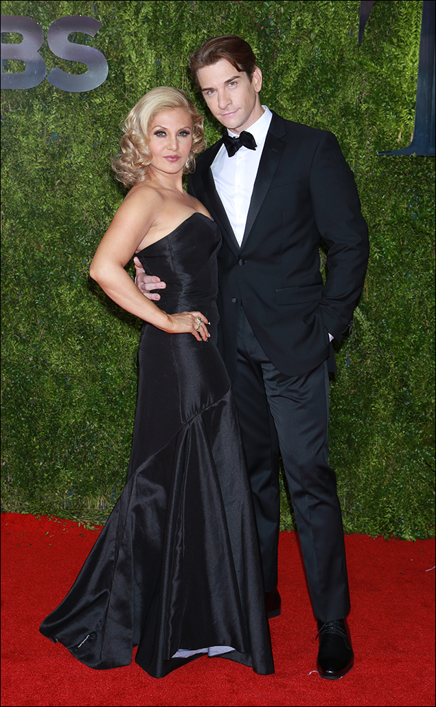 Orfeh and Andy Karl: And the Fashion Grand Slam in mixed doubles goes to Orfeh and Andy Karl. This couple serves an over-the-net ace from Rock 'N' Roll Sexy to Modern, Sophisticated, and Glamorous at every Red Carpet they play on.