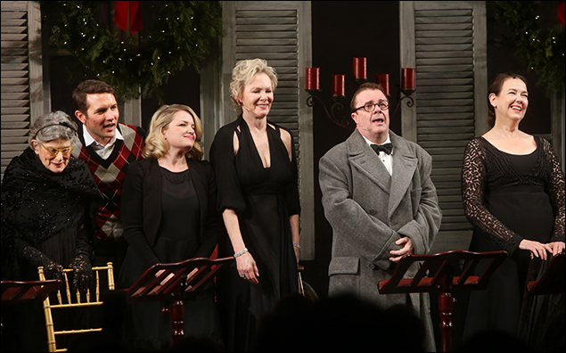 Mary Louise Wilson, Zach Shaffer, Mary Catherine Garrison, Jean Smart, Nathan Lane and Harriet Harris