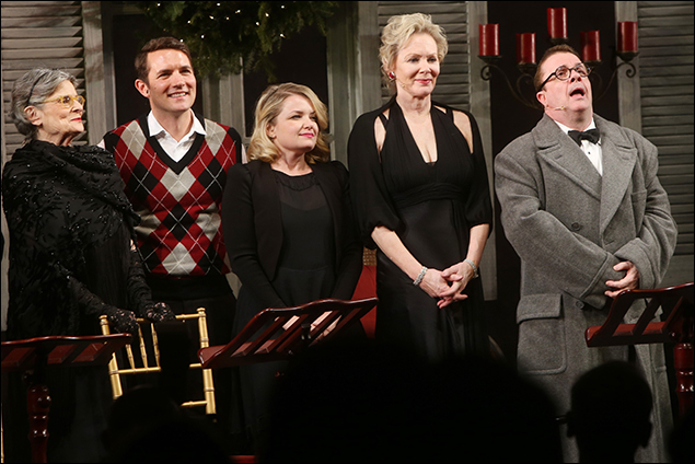 Mary Louise Wilson, Zach Shaffer, Mary Catherine Garrison, Jean Smart and Nathan Lane