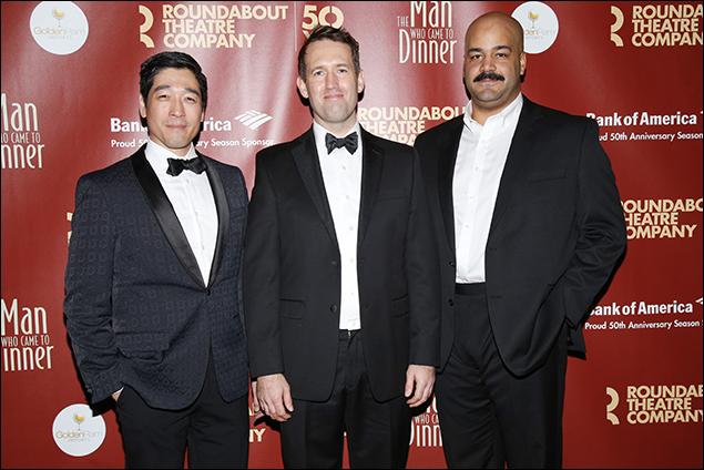 Peter Kim, Ned Noyes and Austin Durant