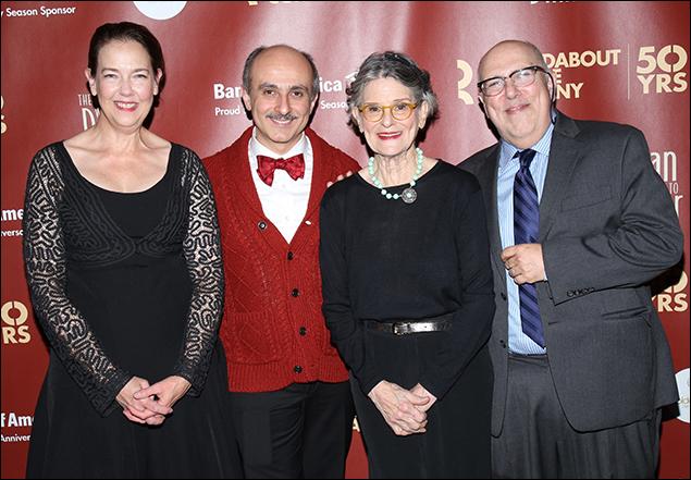 Harriet Harris, Stephen DeRosa, Mary Louise Wilson and Lee Wilkof