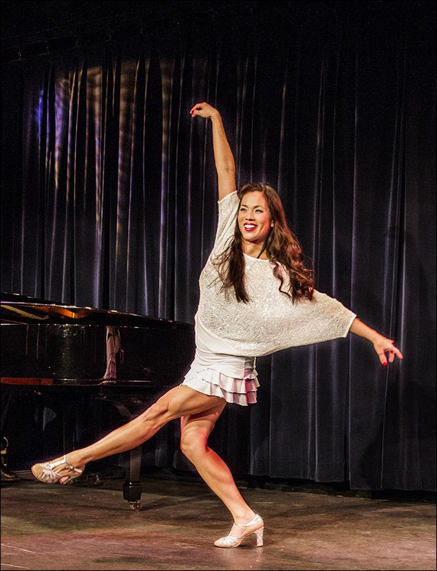 "Emily Hsu performs ""When You Got It, Flaunt It"""
