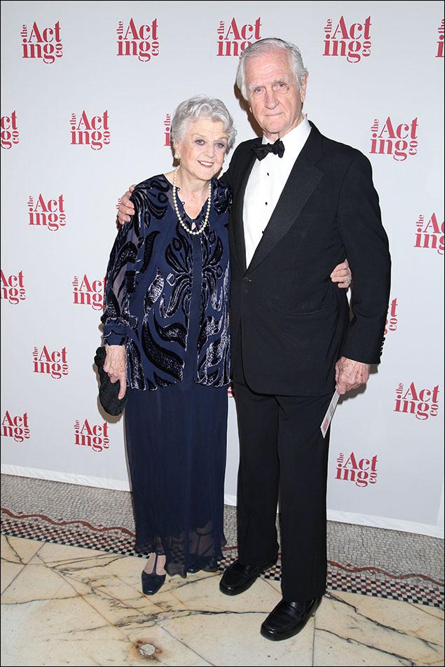 Angela Lansbury and her brother Edgar Lansbury