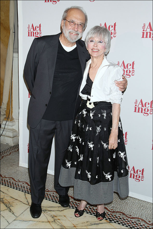 Tom Fontana and Rita Moreno