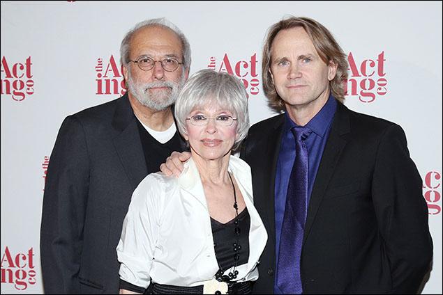 Tom Fontana, Rita Moreno and Lee Tergesen