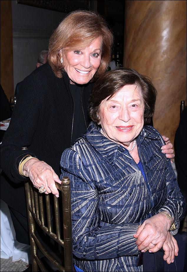 Cynthia Harris and Barbara Fleischman