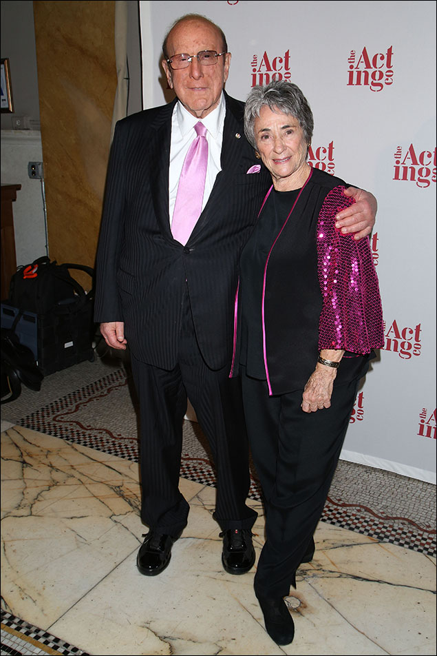 Clive Davis and Margot Harley