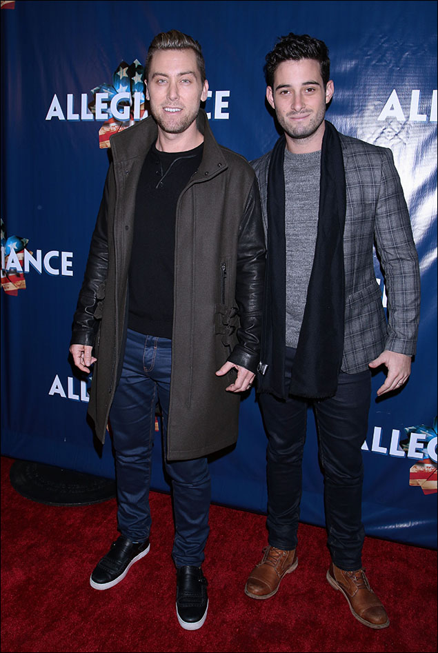 Lance Bass and Michael Turchin keep turning it out as Broadway Fashion's Dynamic Duo. They make male grooming and dressing look effortless! POW! BAM!