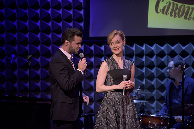 Matthew Hydzik and Erin Davie