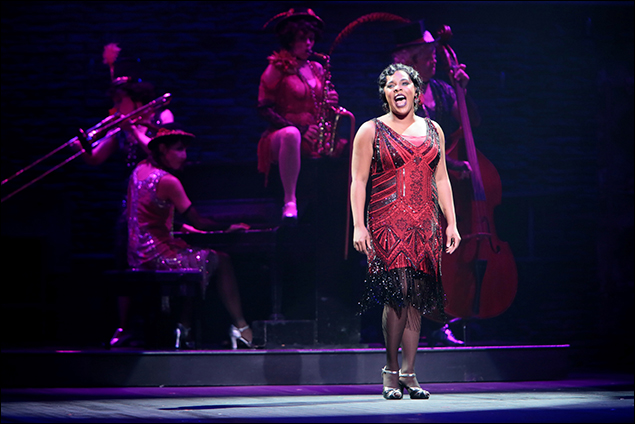 "Bryonha Marie Parham performs ""Cabaret"" in Prince of Broadway"
