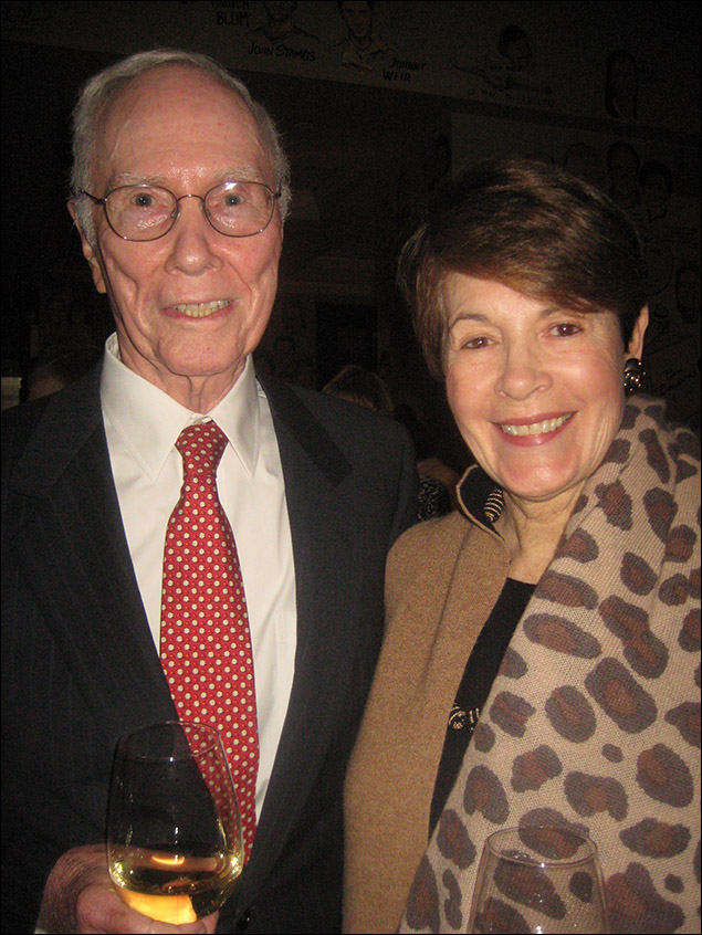 Roger Berlind and wife Brooke