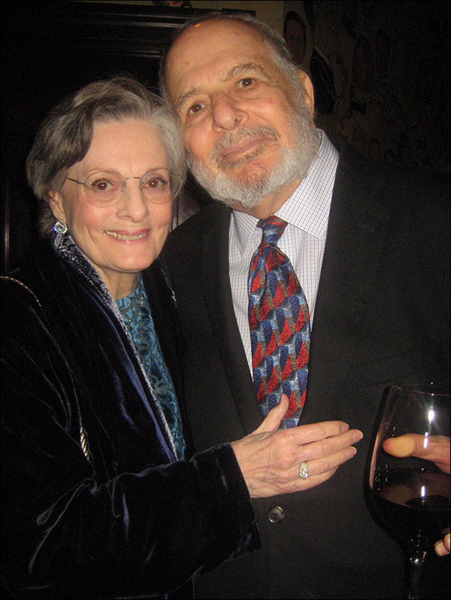 Dana Ivey and Alfred Uhry