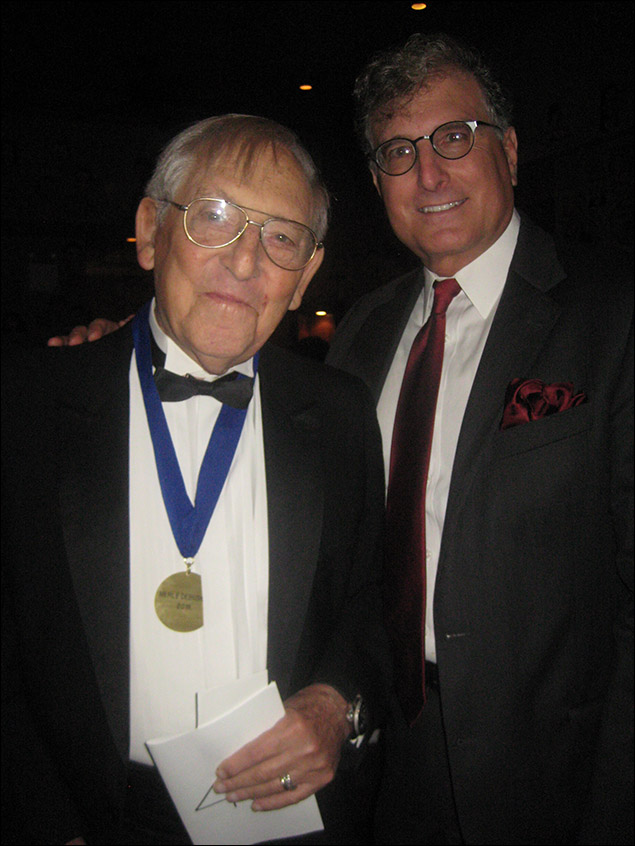 Honoree Merle Debuskey and Bruce Cohen