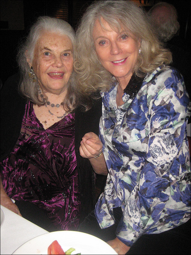 Lois Smith and Blythe Danner