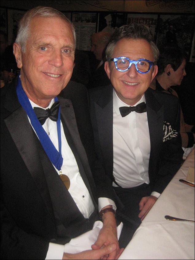Honoree Ken Billington and Tom Schumacher