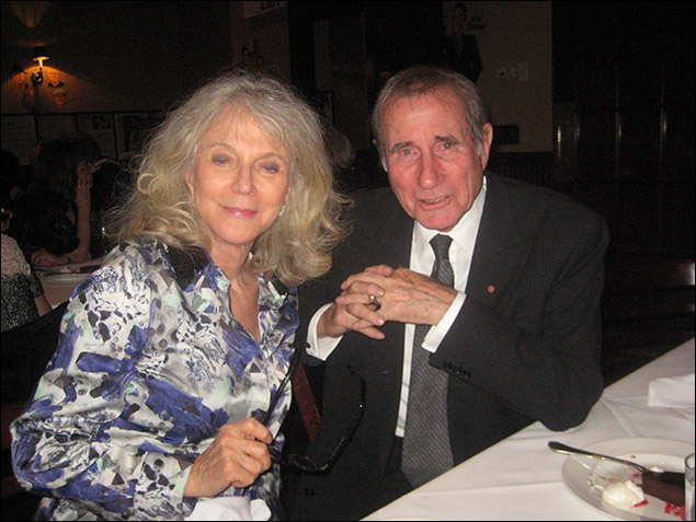 Blythe Danner and Jim Dale
