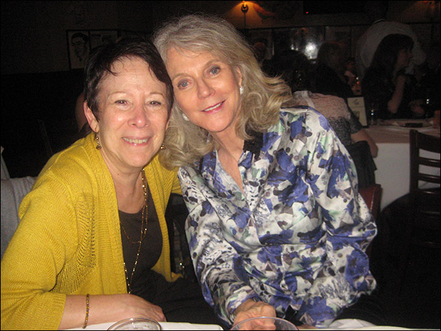 Susan Schulman and Blythe Danner