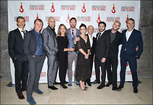 Thomas Michael Hammond, Michael Gould, Mark Strong, Nicola Walker, Richard Hansell, Phoebe Fox, Ivo Van Hove, Michael Zegen, Russell Tovey and Jan Versweyveld