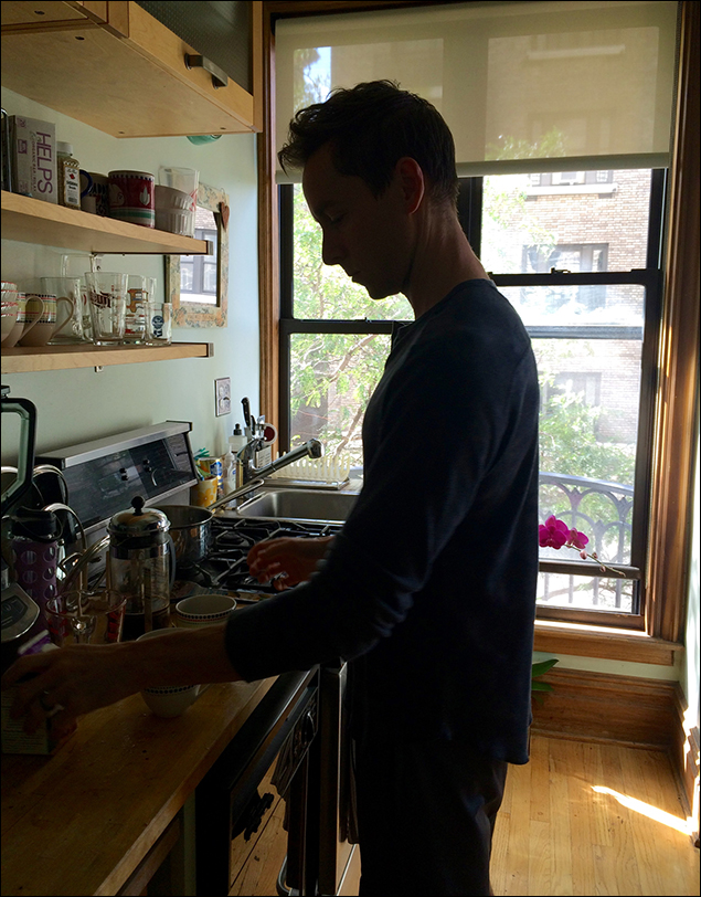 My husband is a master at the French press!