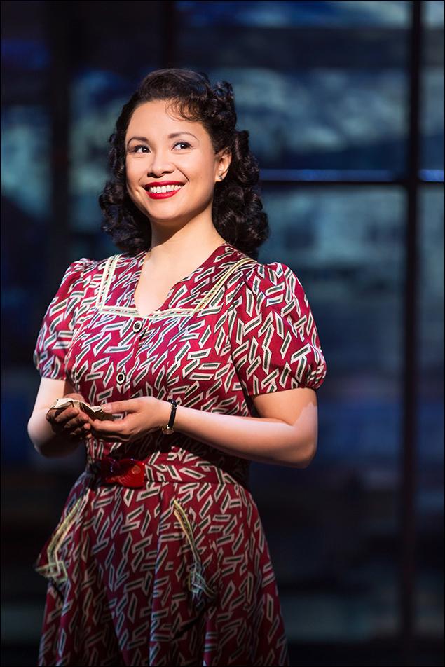 Lea Salonga in Allegiance on Broadway