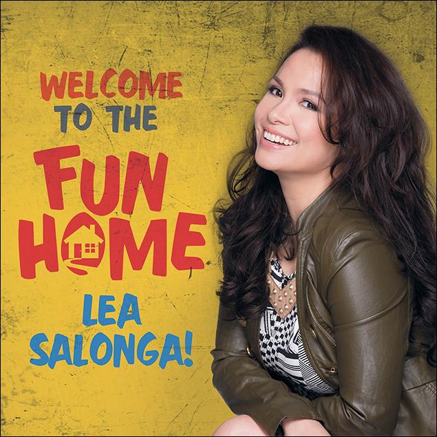Salonga will next star in the international premiere of Fun Home in Manila, late 2016