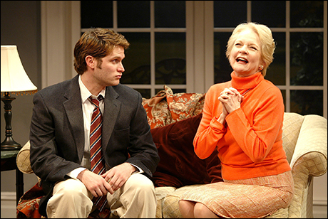 Steven Pasquale with Penny Fuller in Beautiful Child at the Vineyard Theater