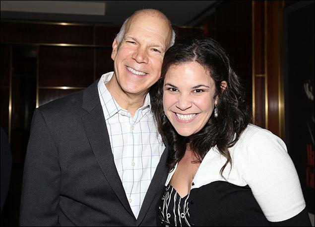 David Zippel and Lindsay Mendez