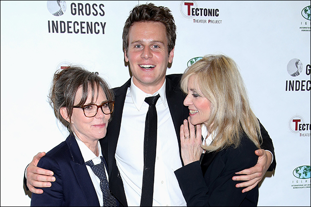 Sally Field, Jonathan Groff and Judith Light