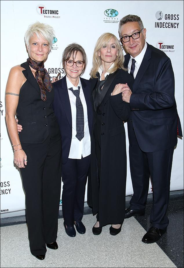 Lauren Wainwright, Sally Field, Judith Light and Moises Kaufman