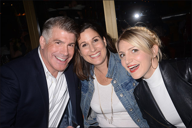 Bryan Batt, Stephanie J. Block and Annaleigh Ashford