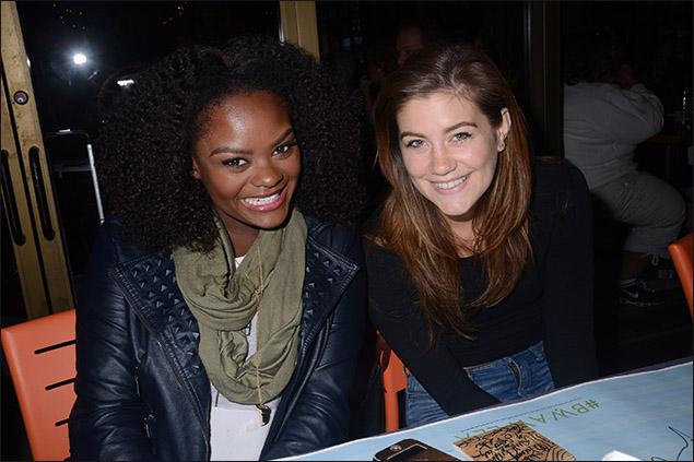 Shanice Williams and Laura Dreyfuss