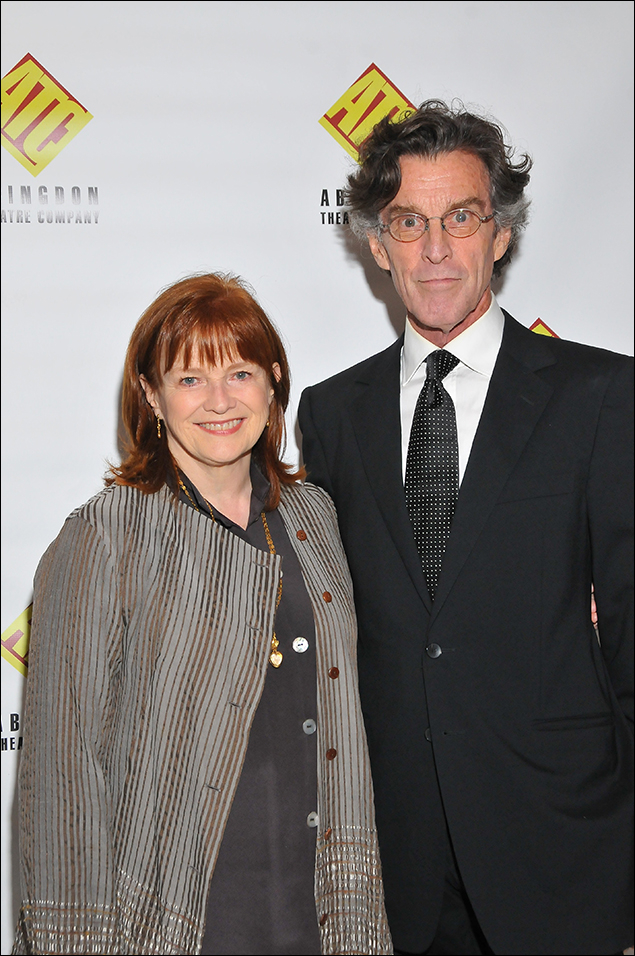 Blair Brown and John Glover