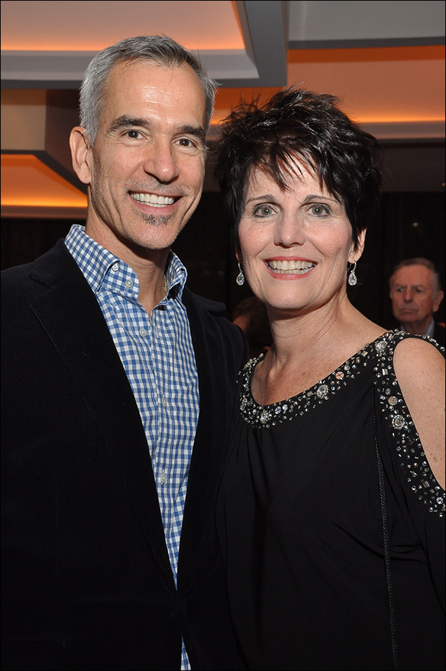Jerry Mitchell and Lucie Arnaz