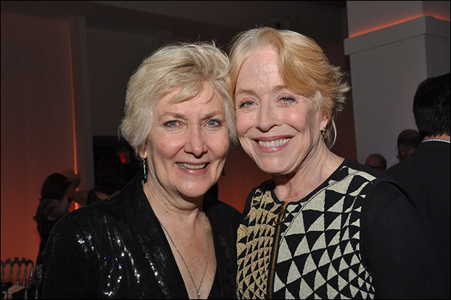 Jan Buttram and Holland Taylor