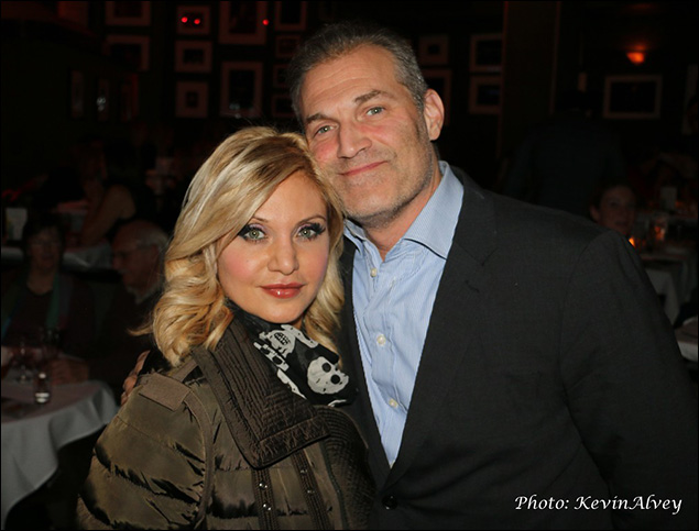 Orfeh and Marc Kudisch