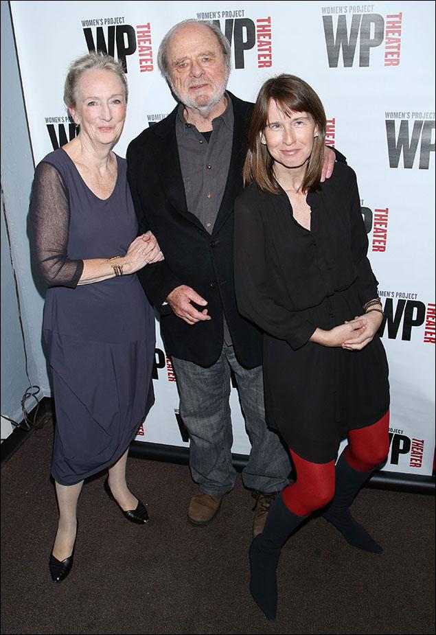 Kathleen Chalfant, Harris Yulin and Polly Noonan