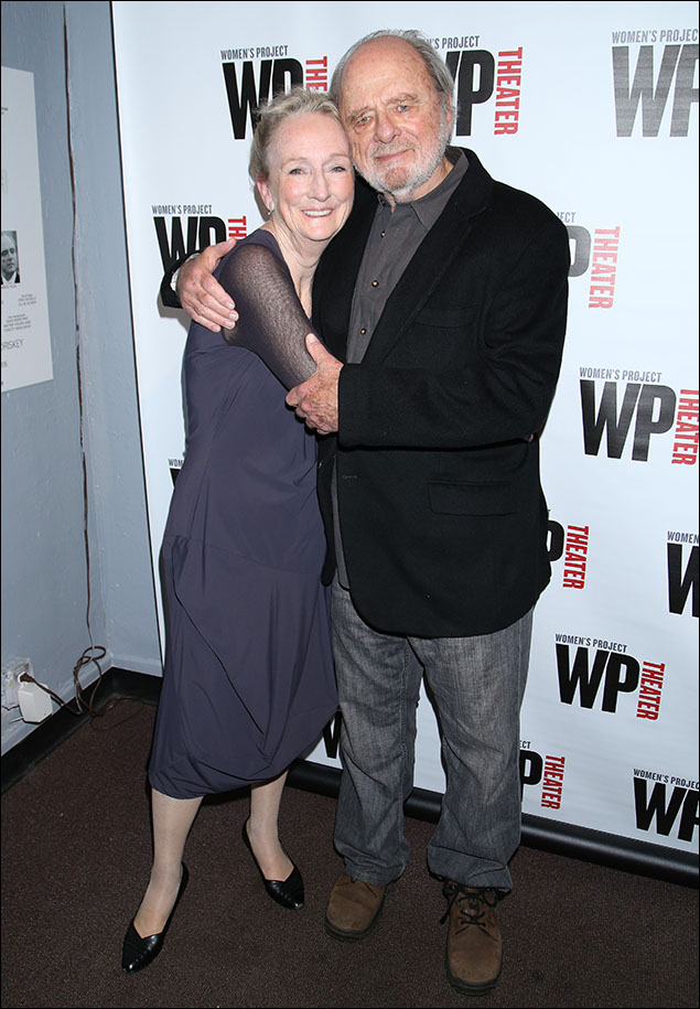 Kathleen Chalfant and Harris Yulin
