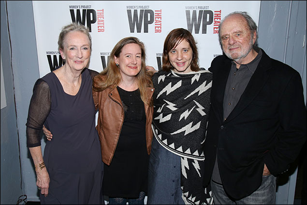 Kathleen Chalfant, Sarah Ruhl, Kate Whoriskey and Harris Yulin